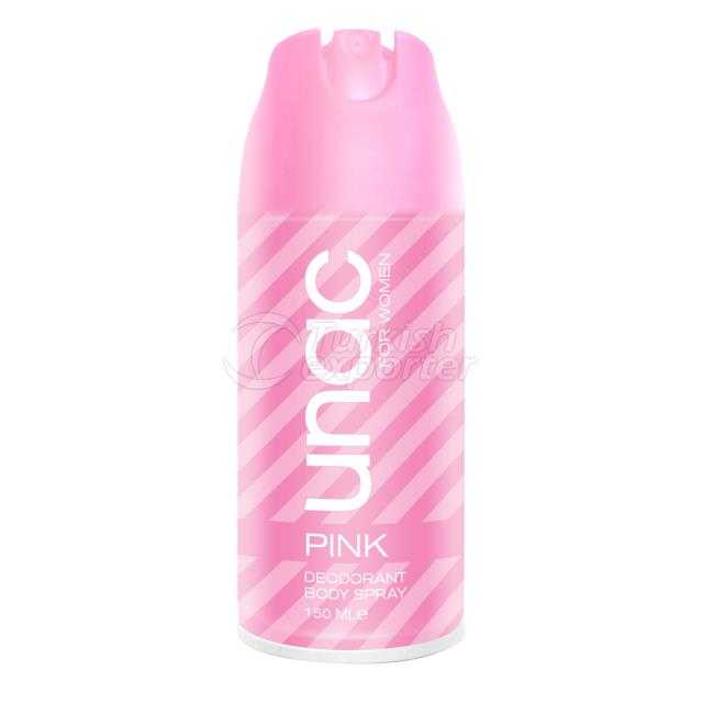 UN7043 - UNAC WOMEN DEODORANT PINK