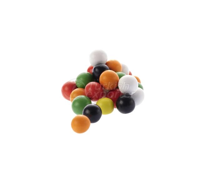 Colored Chocolate Coated Chickpeas