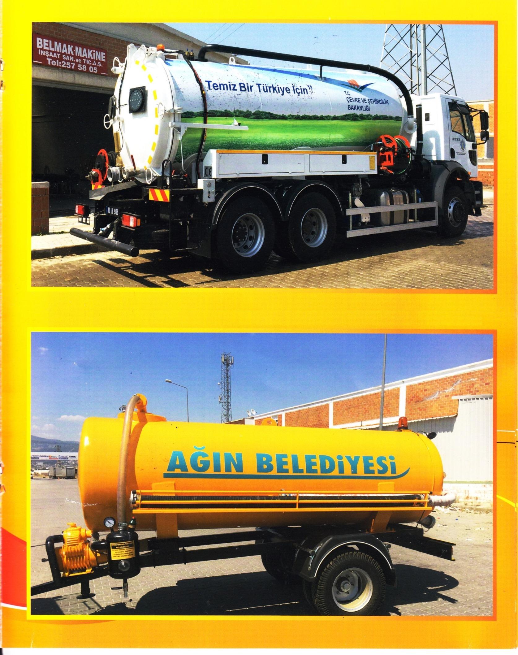 sewage truck