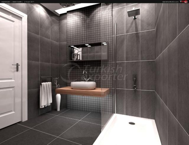 Hotel Concept-Bathroom and Toilet Furnitures
