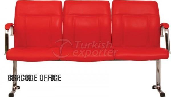 Cadeiras da sala de espera Açelya