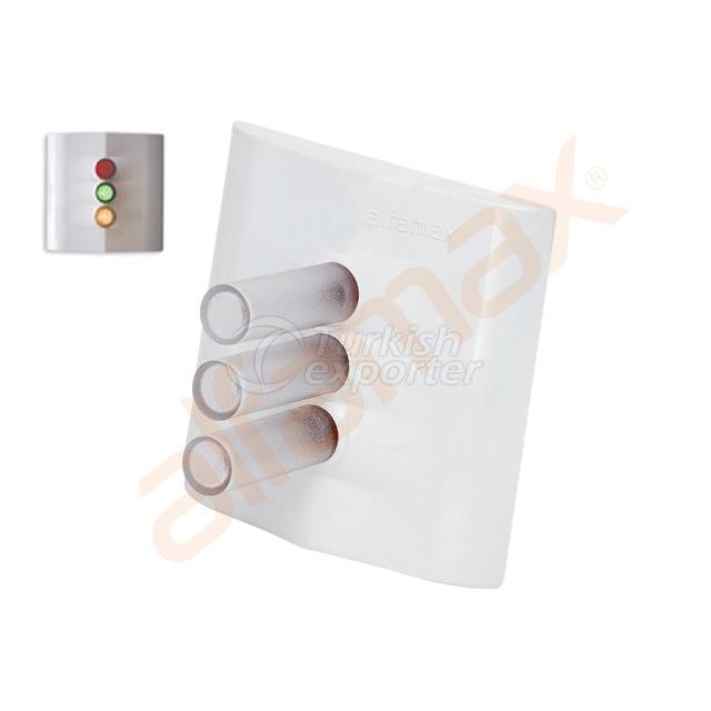 AL 0403-3  3 Colours Overdoor Lamp