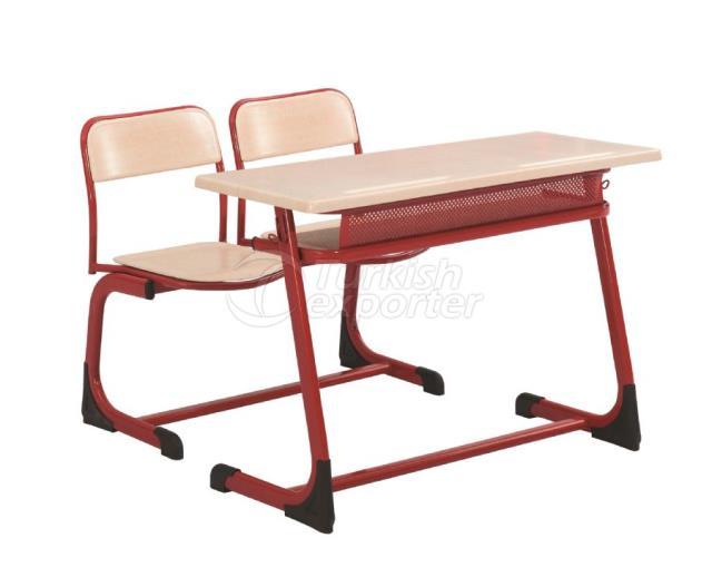 Desks OK-102 delik sacli