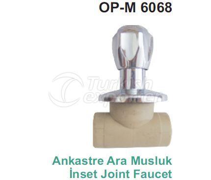 Inset Joint Faucet TAP OP-M 6068