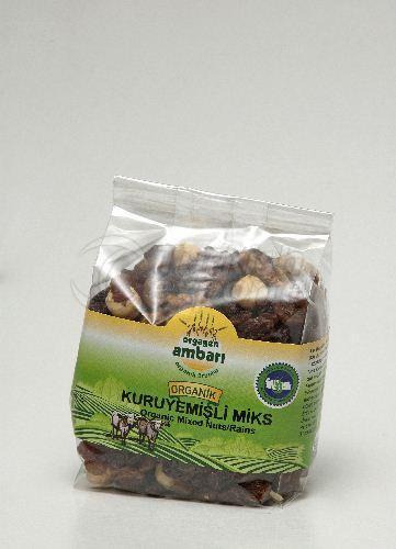 Organic Dried Nuts 250 Gr