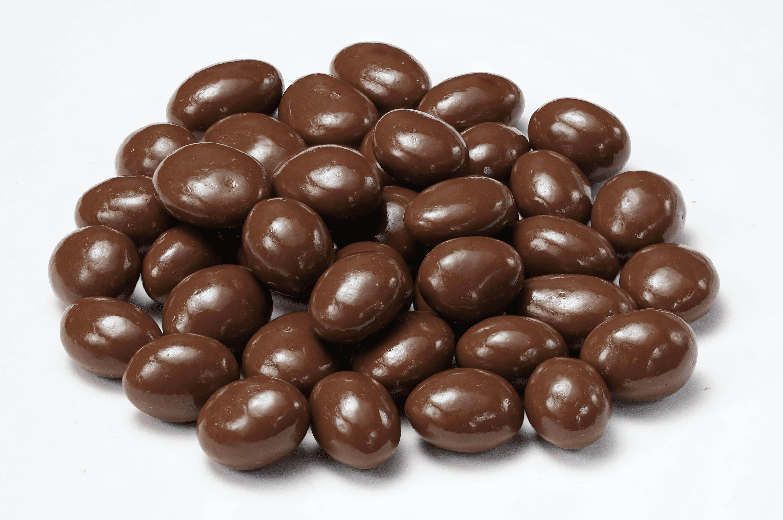 Gragea de uva recubierta de chocolate