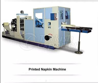 Máquina de servilletas impresas