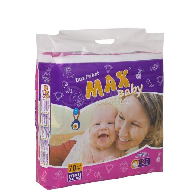 Couches bébé Mini 70 pcs