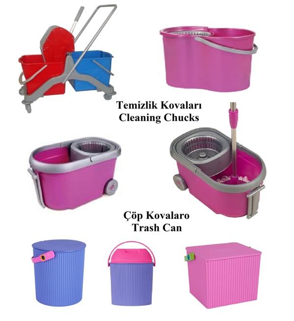 Cleaning Chucks-Trash Can