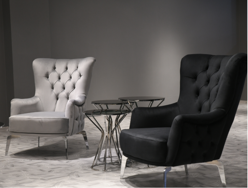Conjunto de sofás modelo elegante