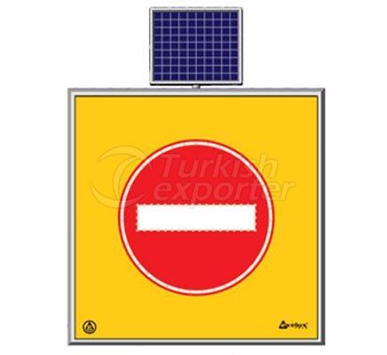 Solar Road Maintenance Led Sign  11768 S-LD