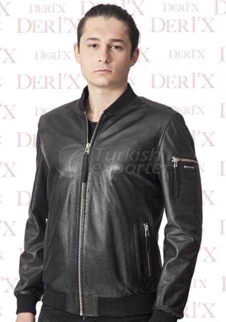 Leather Jackets E- 1003 Black