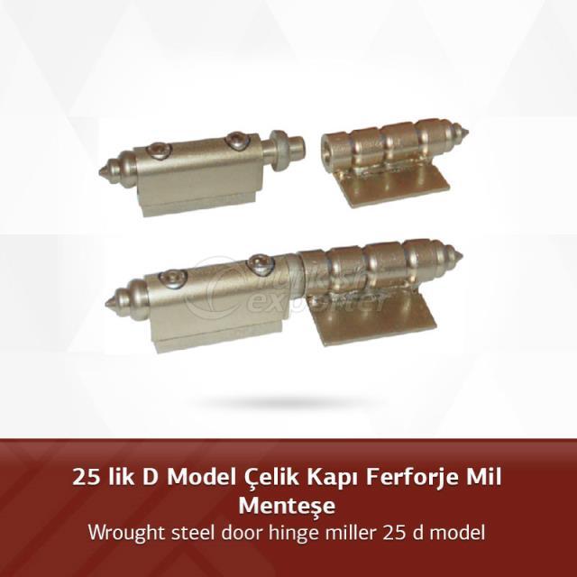 25 D Model Steel Door Hinge Wrought