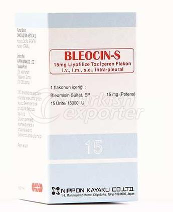 BLEOCIN-S  15 MG -1- VIAL