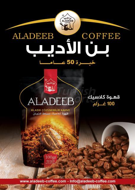 ALADEEB 100G CLASICO CAFÉ INSTANTÁNEO