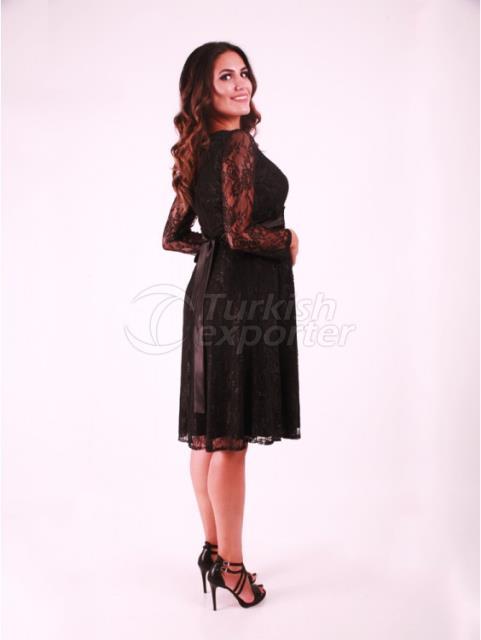 Gupta Long Sleeve Maternity Wear Evening Dress