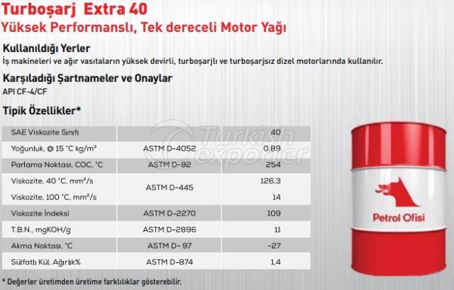 Turbocharge Extra 40