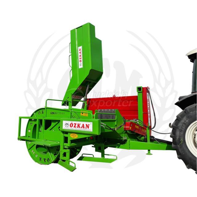 Machine automatique de récolte de citrouille