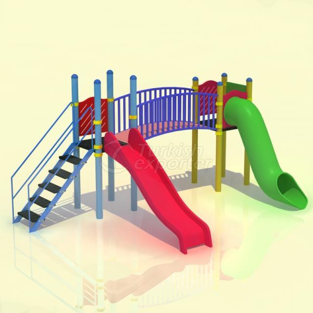 Metal Kids Playground BAB-P-14006