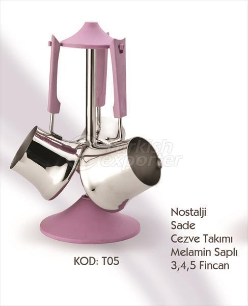 Nostalji Coffee Pot Sets T05