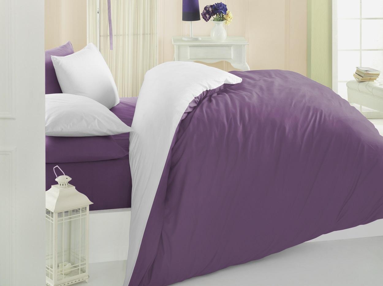 Ranforce quality solid color duvet cover sets