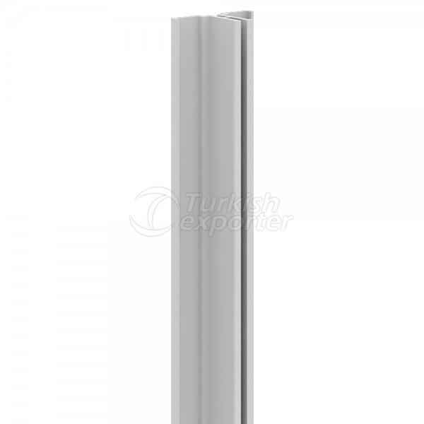 APD-1 Aluminium Panel Upright Single Channel