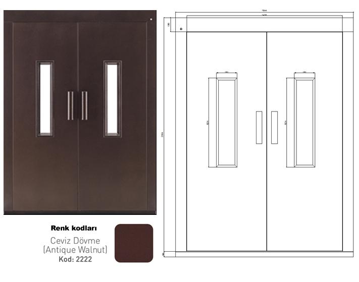 Elevator Door DOORLIFE 90