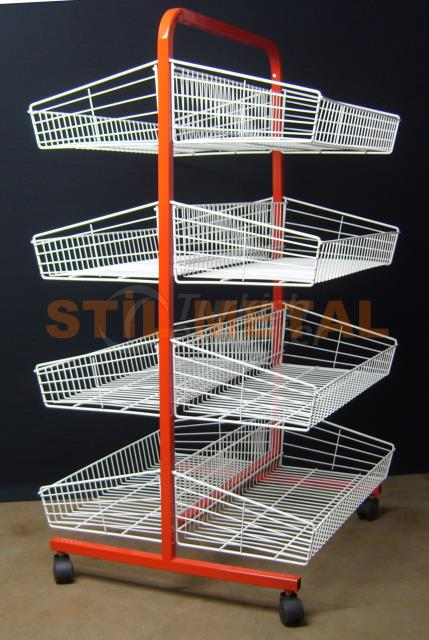 Double Sided Wire Display Rack