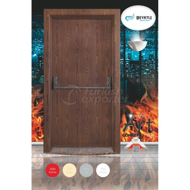 Fire Exit Door - FR 001