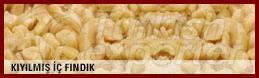 Nacos naturais de avelã picado