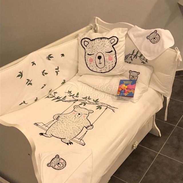 Conjunto de cama de bebê