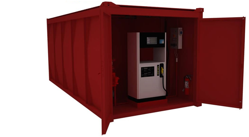 1-A Fuel Oil Mobile Container Station