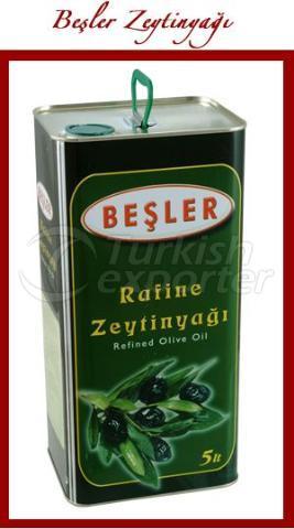 Рафинированное оливковое масло 5 л (олово х 4)
