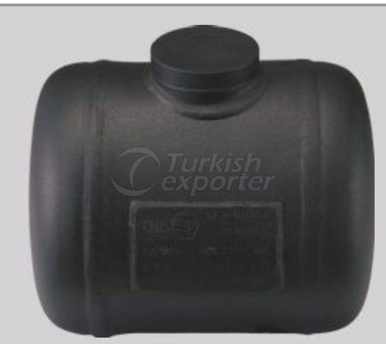 TMS Cylindrical Type Motorcycle LPG Tank