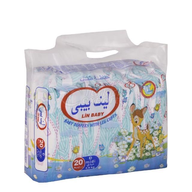 Baby Diapers Midi 20 pcs