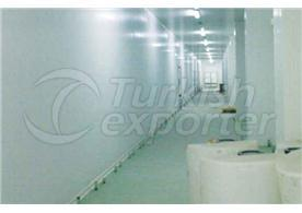Instalações de armazenamento industrial