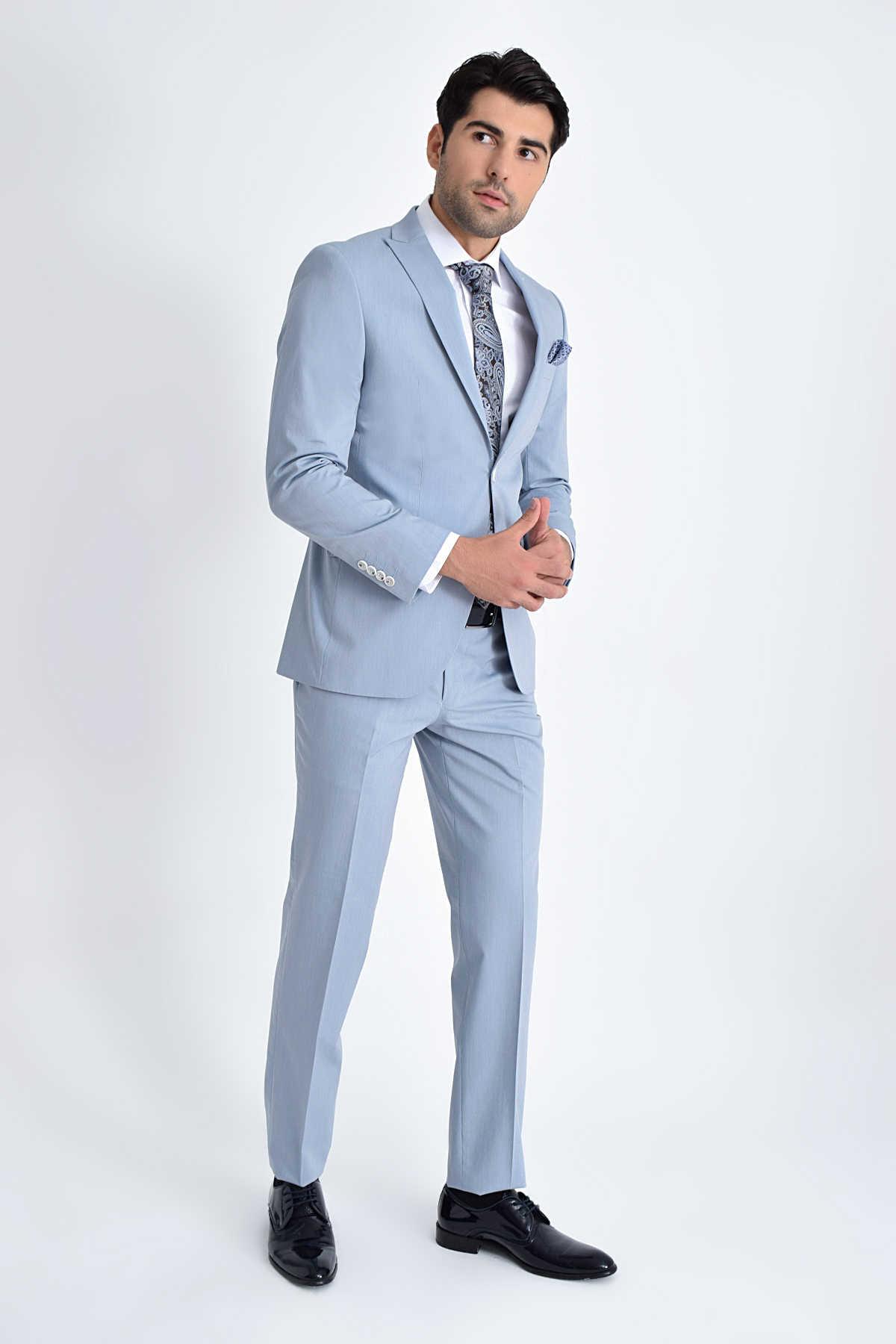 Slim Fit Groom_s Suit 33202019C001