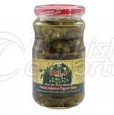Jelapeno Pepper Pickled / Sliced 350 190 Gr