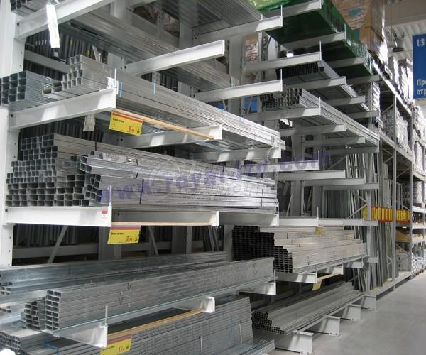 Console Arm Shelving System