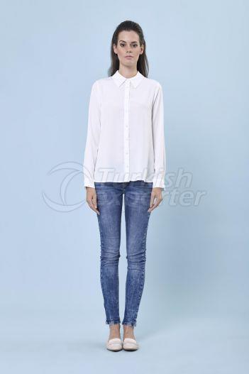 Basic Shirt 3119 Ekru