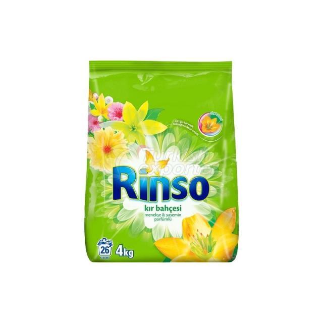 RINSO MATIC JARDIN RURAL 4KG