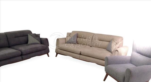 Conjunto de sofás Huqqa