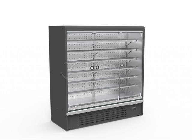 Plug-in Refrigerated Multideck Cabinet Single Glass Door PUMA SGD