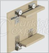 Adjustable Sliding Door System M03 6320