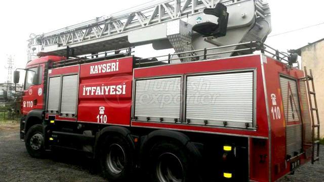 Véhicules de lutte contre l'incendie