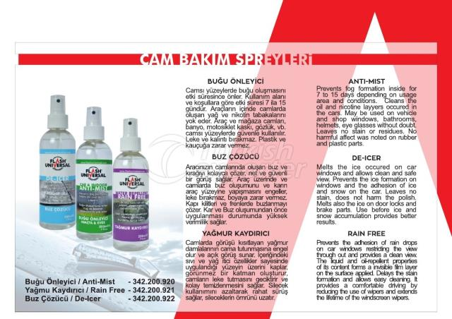 Glass Care Products