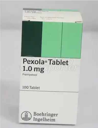 PEXOLA 1 MG 100 TABLETS