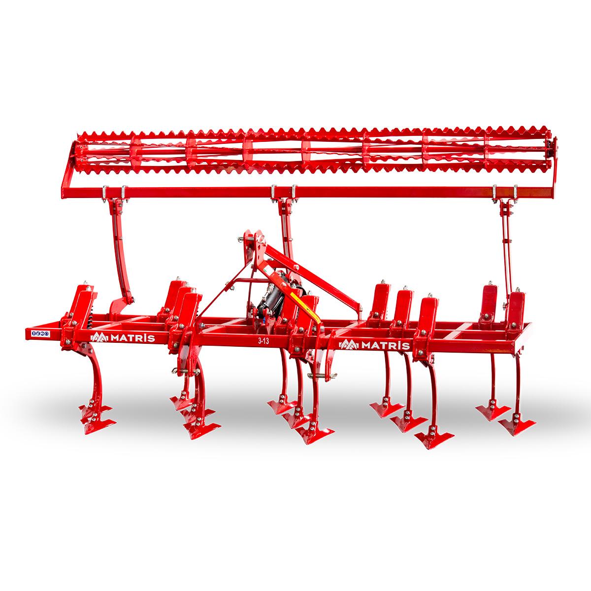 Titan 3 Rows Spring Cultivator