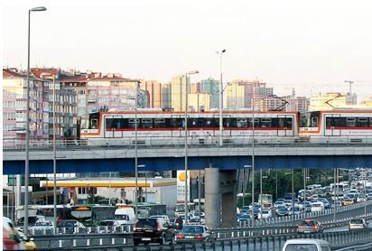 Istanbul Tramway System, Zeytinburnu, Bagcilar Project