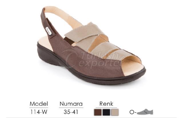 Diabetic-Orthopedic Sandals 114-W
